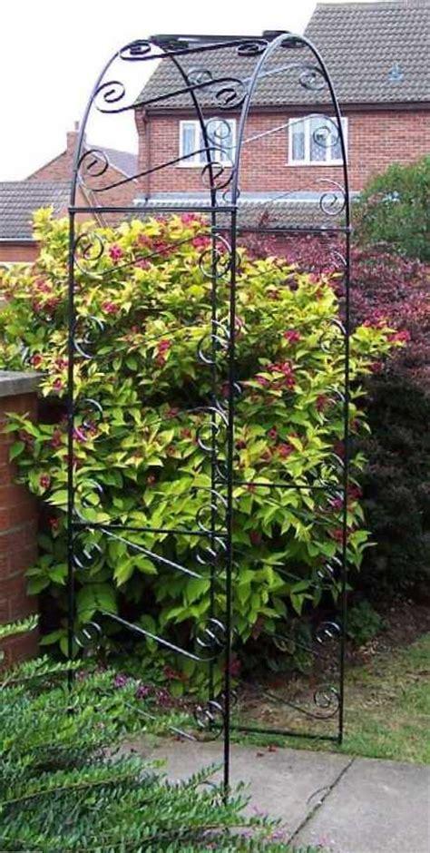 Galvanised Garden Arch Uk Scrolled Garden Arch