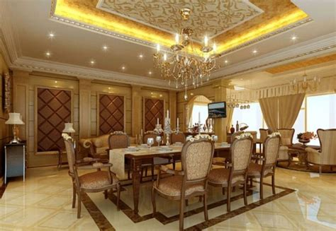 High End Luxury Dining Room