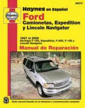manual repair autos 2004 lincoln navigator free book repair manuals spanish language ford y lincoln haynes manual de reparaci 243 n 1997 2009 f 150 expedition f