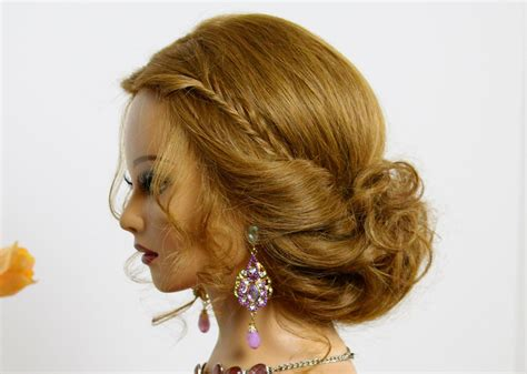 easy homemade hairstyles for medium hair simple prom updos medium hair homemade party design