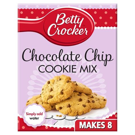 betty crocker cookies morrisons betty crocker chocolate chip cookie mix 200g