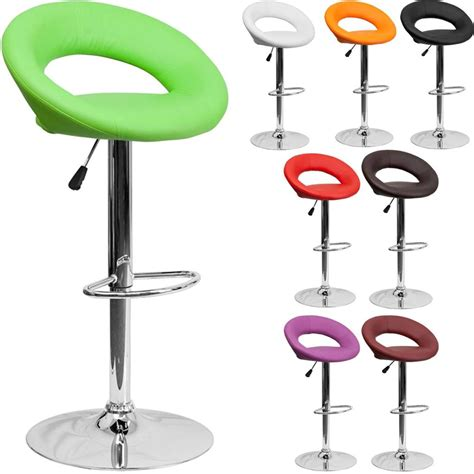 unique modern adjustable height metal bar stool swivel unique modern adjustable height bar stool chrome swivel