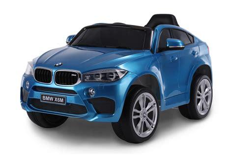 bmw xm   sitzer blau lackiert kinder elektroauto