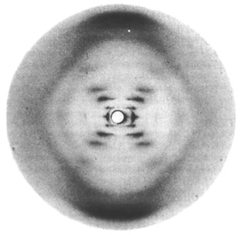 x ray diffraction pattern of dna franklin s x ray crystallography