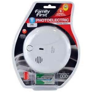 photoelectric smoke alarm family for safety