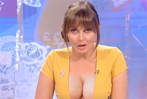 Carol vorderman says the bbc told me that i d never make it in tv because my breasts were too