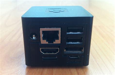 smallest computer desk cubox the world s smallest desktop computer running