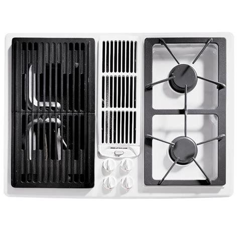 jenn air gas cooktop with downdraft jenn air 30 gas downdraft cooktop with grill and two
