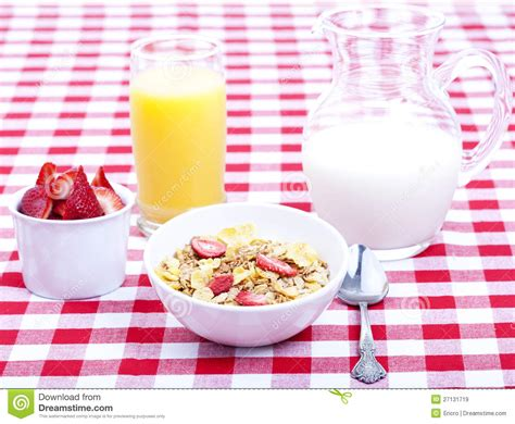 Ejuice Matjan Breakfast Berry Cereal Milk breakfast of cereal fruit orange juice and milk stock image image of spoon morning 27131719