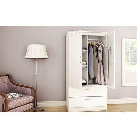 clothing armoire walmart inval two door wardrobe armoire espresso wengue finish