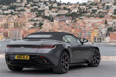 aston martin db volante 2019 aston martin db11 volante drive review