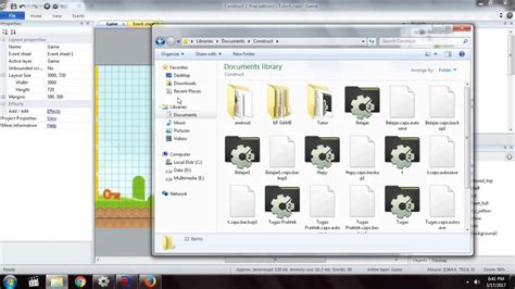 construct 2 tutorial card game 5 tutorial construct 2 how to make 2d platformer game
