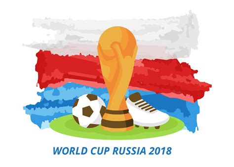 russia world cup free world cup russia 2018 vector free vector