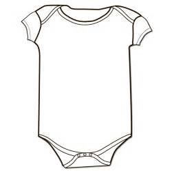 printable onesie template baby onesie outline sketch coloring page