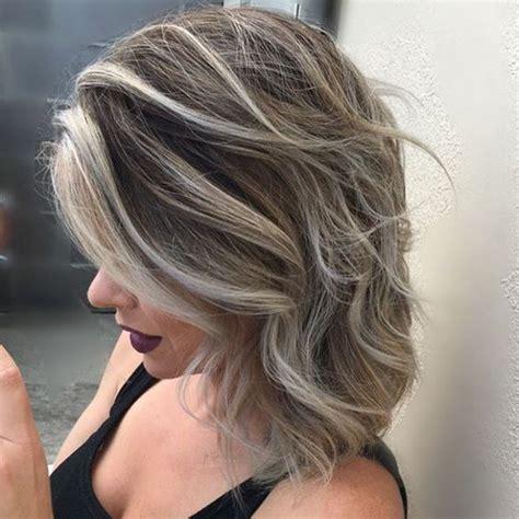 corto con mechas en pinterest mechas blancas mechas beige y mechas mechas para pelo corto y media melena 2018 de peinados