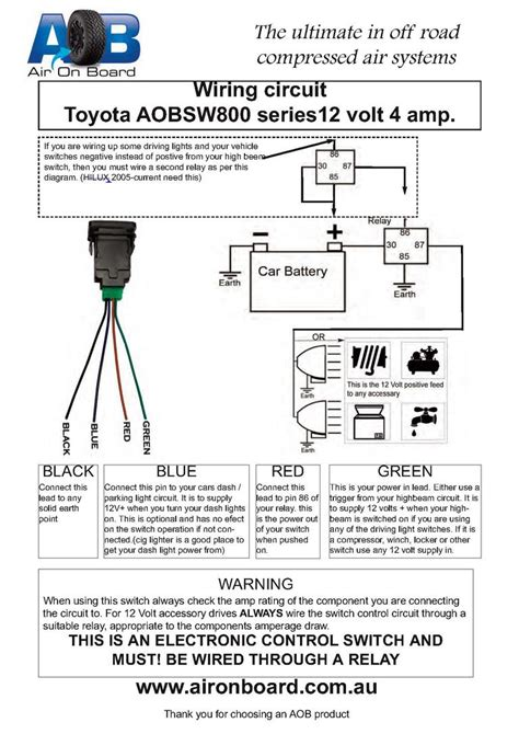 factory style fog light switch fits knock  page
