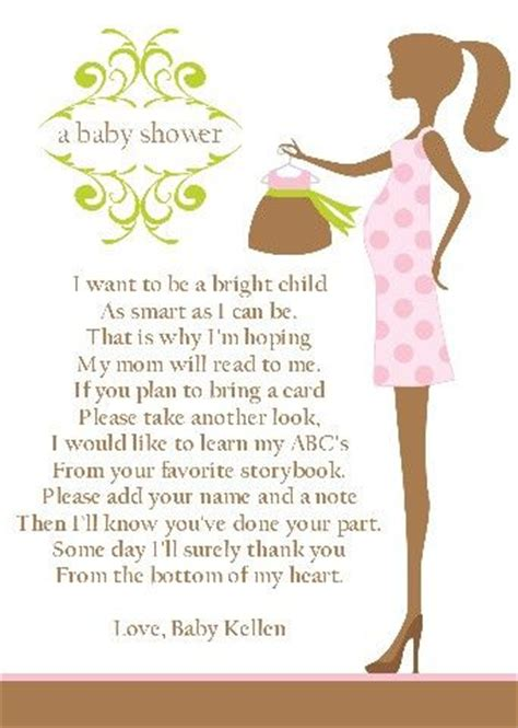 Baby Shower Poems For To Be by 25 Best Ideas About Baby Shower Poems On