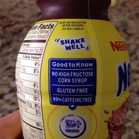 9 Ingredients And Directions Of Nesquik Chocolate Igloos Receipt by Nestle Nesquik Chocolate Low Milk Calories Nutrition