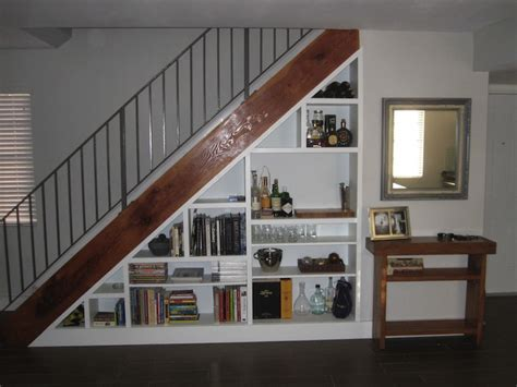 Bookcase Under Stairs Picture Of Under Stairs Bookcase