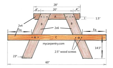 pub table bench picnic table bench combination pattern
