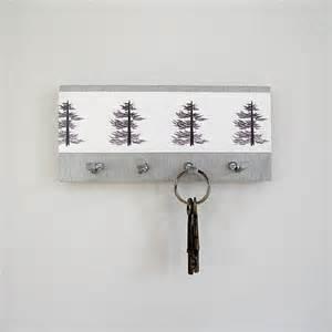 modern key holder wall mount key rack modern pine by