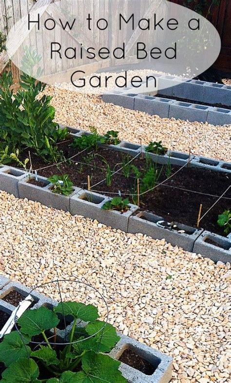 How To Make A Raised Garden Bed by How To Make A Raised Bed Garden