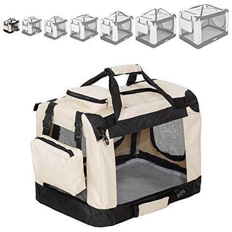 trasportino aereo cabina tectake borsa box trasportino pieghevole per cani