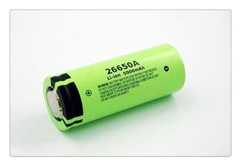 Original 100 Battery 100 original new battery for panasonic 26650a 3 7v 5000mah high capacity 26650 li ion