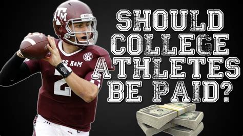 why college athletes shouldn t be paid