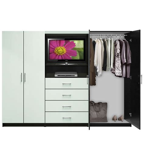 Wardrobe With Tv Unit by Aventa Wardrobe Tv Cabinet Door Wardrobe Cabinets
