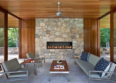 gaskamin terrasse 6 custom gas fireplace contemporary patio vancouver