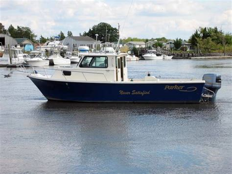 fishing boats for sale with cabin 1999 used parker 2520 sport cabin saltwater fishing boat