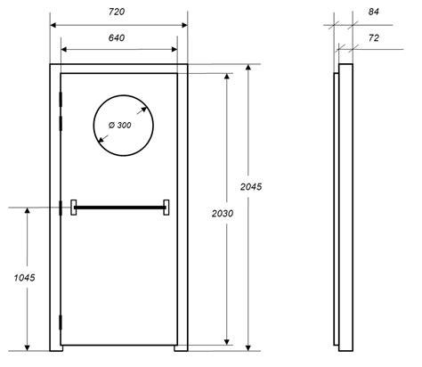 Dimension Porte De by Dimensions Bloc Porte Obasinc