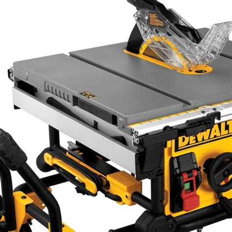 dewalt dwe7491rs table saw with scissor and rolling stand