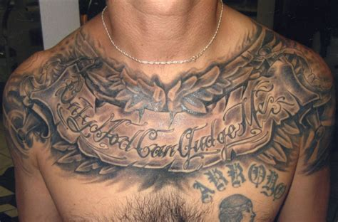 mens chest tattoos design ideas