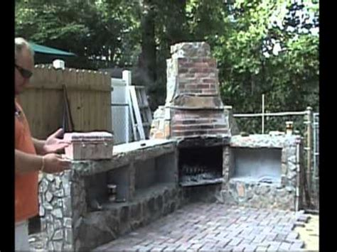 Outdoor Fireplace Construction Details by Construction Of Outdoor Fireplace W Additional Pics
