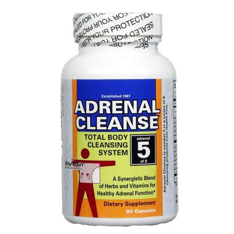 Puriclean Detox Pills by Health Plus Adrenal Cleanse 90 Capsules Evitamins