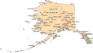 maps us map alaska