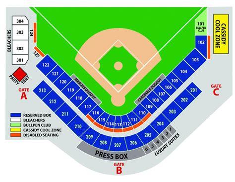 stadium seating chart seating chart roger dean stadium