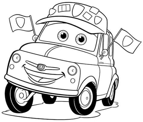 coloring pages of cars the movie cars the movie coloring pages