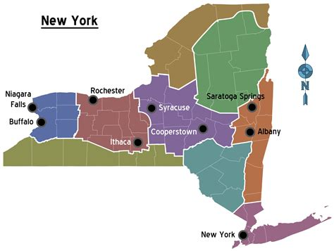 give me a map of new york oc map of new york state stereotypes 3476x2288 mapporn
