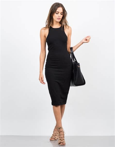 Front Simple Dress banded simple midi dress bodycon dress day dress 2020ave