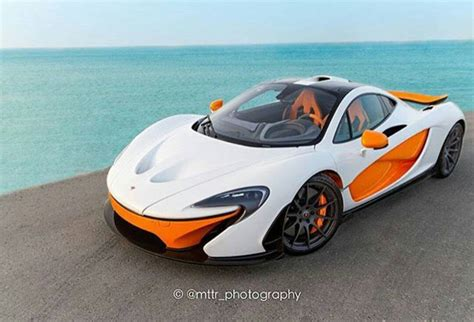 orange mclaren price white mso mclaren p1 with orange details emerges gtspirit
