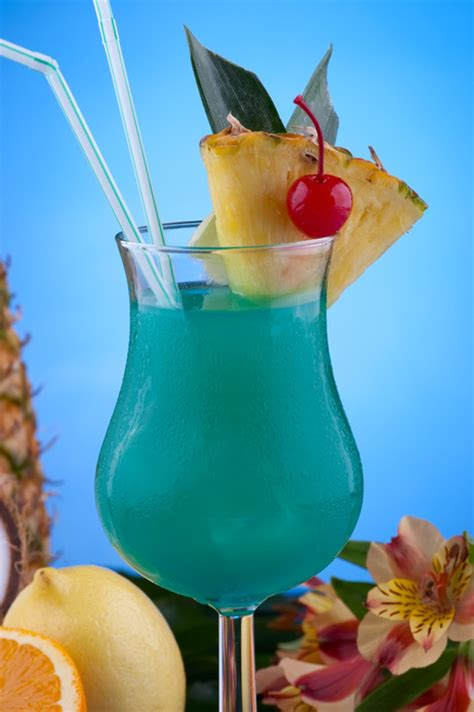 blue hawaiian cocktail coconut blue hawaiian recipe dishmaps