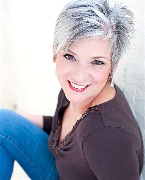 hairstyles for grey hair round face 1000 images about style hair makeup clothes more on