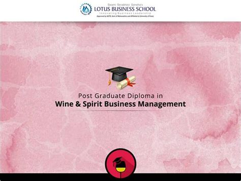 Mba In Wine Management India by Post Graduate Diploma In Wine Spirit Business Management
