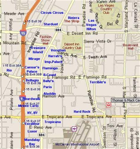 printable map vegas strip map of las vegas free printable maps