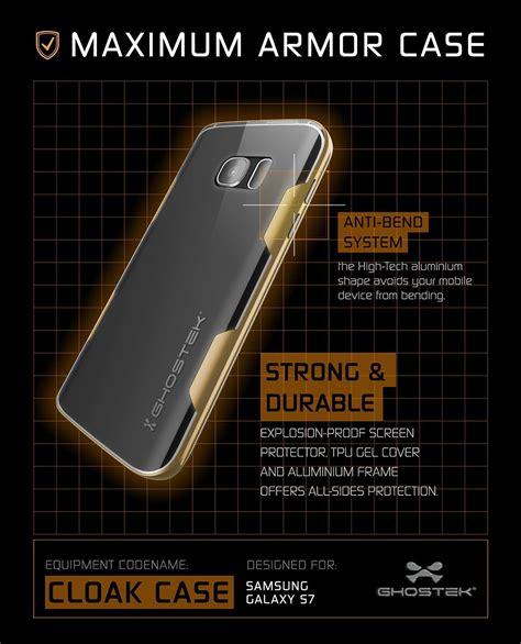 Galaxy S6 Premium Casing Cover Bumper Sarung Armor Murah galaxy s7 ghostek cloak series gold slim