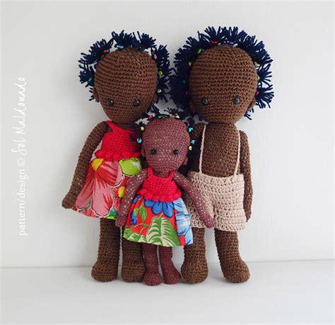 black doll patterns black doll crochet pattern amigurumi folk and boy