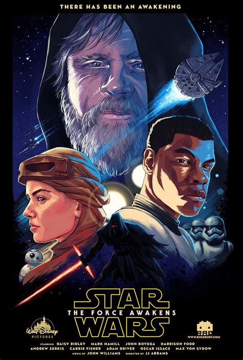 the force ten of the best star wars the force awakens fan posters you ll see anywhere overmental